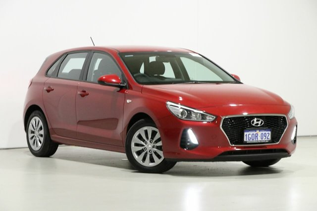 Used Hyundai i30 PD GO 1.6 CRDi, 2018 Hyundai i30 PD GO 1.6 CRDi Red 7 Speed Auto Dual Clutch Hatchback