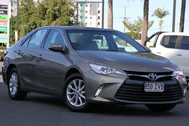 Used Toyota Camry ASV50R Altise, 2017 Toyota Camry ASV50R Altise Magnetic Bronze 6 Speed Sports Automatic Sedan