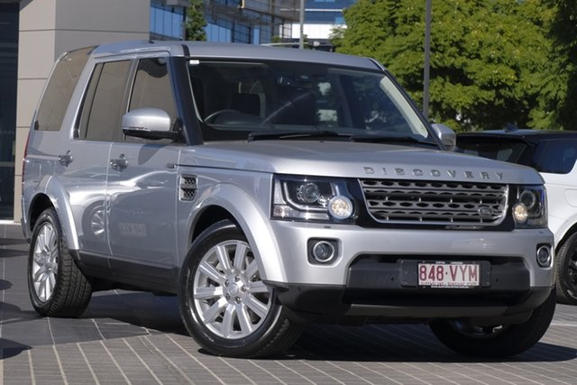 Used Land Rover Discovery Series 4 L319 MY15 TDV6, 2015 Land Rover Discovery Series 4 L319 MY15 TDV6 Silver 8 Speed Sports Automatic Wagon