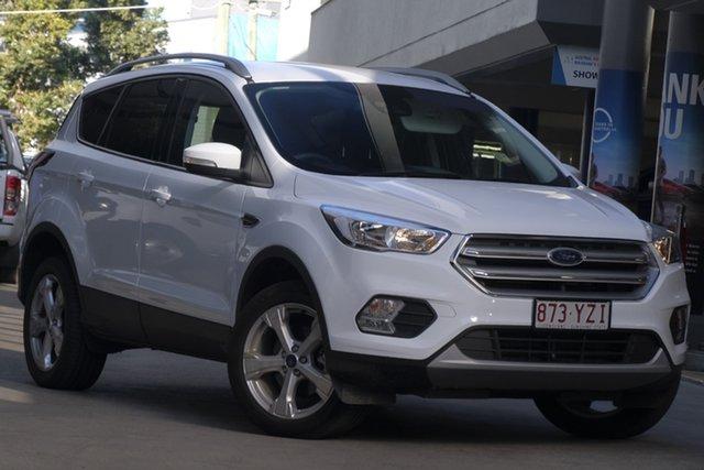 Demo Ford Escape ZG 2019.75MY Trend 2WD, 2019 Ford Escape ZG 2019.75MY Trend 2WD Frozen White 6 Speed Sports Automatic Wagon