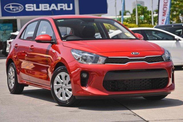 Used Kia Rio YB MY20 S, 2019 Kia Rio YB MY20 S Signal Red 4 Speed Sports Automatic Hatchback