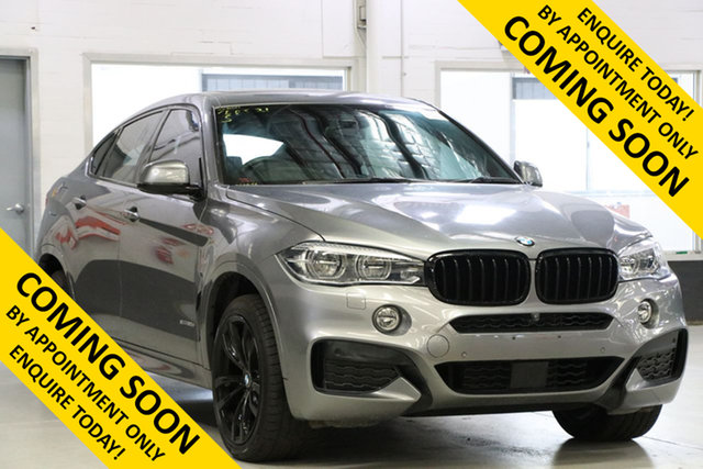 Used BMW X6 F16 MY18 xDrive30d M Sport, 2018 BMW X6 F16 MY18 xDrive30d M Sport Grey 8 Speed Automatic Coupe