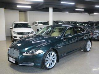 2013 Jaguar XF X250 MY13 Luxury British Racing Green 8 Speed Sports Automatic Sedan.