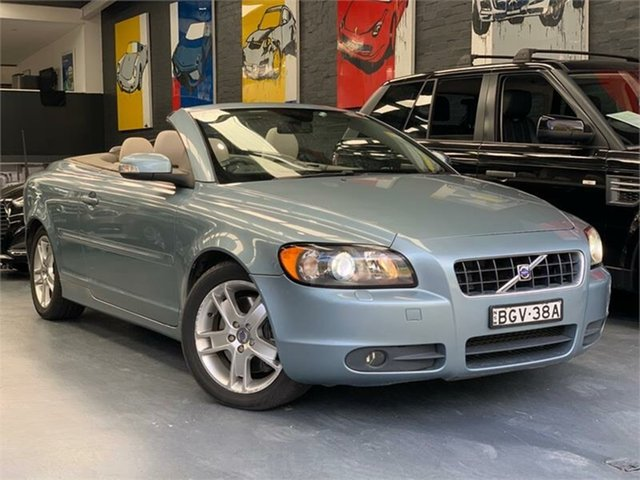 Used Volvo C70 M Series T5, 2008 Volvo C70 M Series T5 Blue Sports Automatic Convertible