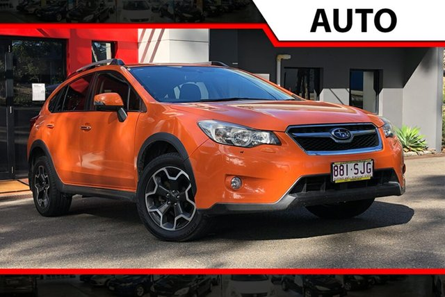 Used Subaru XV G4X MY12 2.0i-S Lineartronic AWD, 2012 Subaru XV G4X MY12 2.0i-S Lineartronic AWD Deep Orange Metallic 6 Speed Constant Variable Wagon