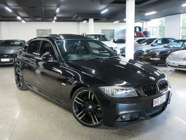 Used BMW 3 Series E90 MY1011 325i Steptronic Exclusive Innovations, 2011 BMW 3 Series E90 MY1011 325i Steptronic Exclusive Innovations Black 6 Speed Sports Automatic