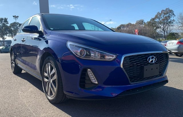 Used Hyundai i30  Active, 2019 Hyundai i30 Active Blue Sports Automatic Hatchback