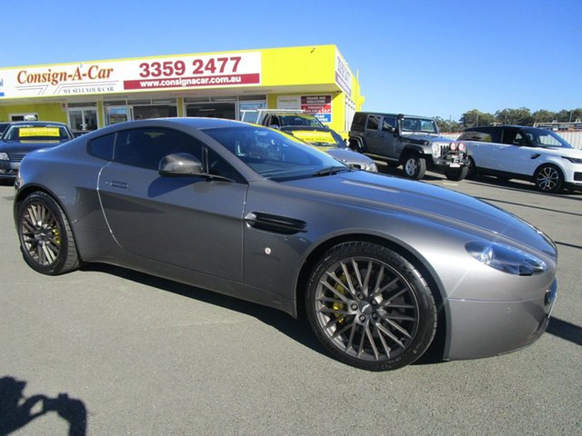 Used Aston Martin V8 MY09 Vantage, 2009 Aston Martin V8 MY09 Vantage Grey 6 Speed Seq Manual Auto-Clutch Coupe