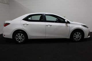 2017 Toyota Corolla ZRE172R Ascent S-CVT White 7 Speed Sedan.
