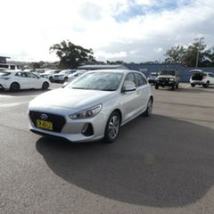 2017 Hyundai i30 PD MY18 Active Silver 6 Speed Sports Automatic Hatchback.