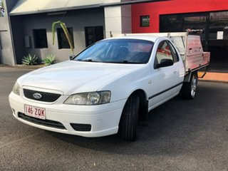 2006 Ford Falcon BF Mk II XL Super Cab 4 Speed Automatic Cab Chassis