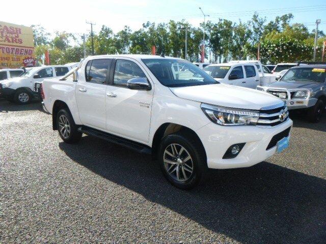 Used Toyota Hilux GUN126R SR5 Double Cab, 2018 Toyota Hilux GUN126R SR5 Double Cab White 6 Speed Sports Automatic Utility