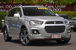 2017 Holden Captiva CG MY17 LTZ AWD Silver 6 Speed Sports Automatic Wagon.