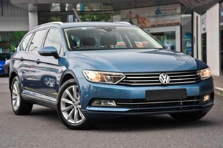 2018 Volkswagen Passat 3C (B8) MY18 132TSI DSG Comfortline Blue 7 Speed Sports Automatic Dual Clutch.