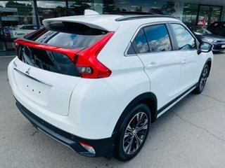 2018 Mitsubishi Eclipse Cross YA MY19 Exceed 2WD White 8 Speed Constant Variable Wagon.