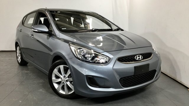 Used Hyundai Accent RB6 MY19 Sport, 2019 Hyundai Accent RB6 MY19 Sport Grey 6 Speed Sports Automatic Hatchback