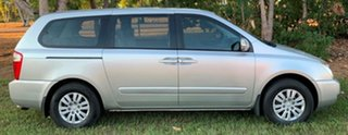 2014 Kia Grand Carnival VQ MY14 S Silver 6 Speed Sports Automatic Wagon.