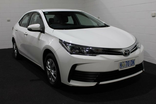 Used Toyota Corolla ZRE172R Ascent S-CVT, 2017 Toyota Corolla ZRE172R Ascent S-CVT White 7 Speed Sedan