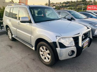 2010 Mitsubishi Pajero NT MY10 Activ Silver, Chrome 5 Speed Sports Automatic Wagon.