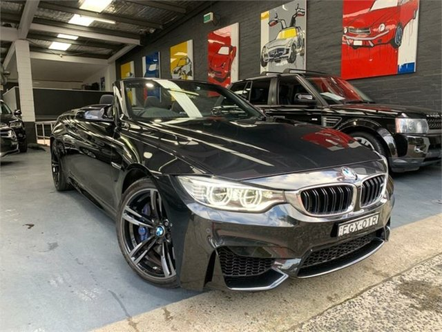 Used BMW M4 F83 , 2014 BMW M4 F83 Grey 7 Speed Sports Automatic Dual Clutch Convertible
