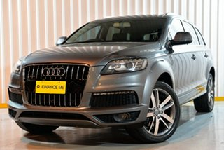 2012 Audi Q7 MY12 TFSI Tiptronic Quattro Grey 8 Speed Sports Automatic Wagon.