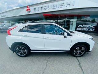 2018 Mitsubishi Eclipse Cross YA MY19 Exceed 2WD White 8 Speed Wagon.