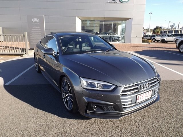 Used Audi A5 F5 MY17 Sport Sportback S Tronic Quattro, 2017 Audi A5 F5 MY17 Sport Sportback S Tronic Quattro Grey 7 Speed Sports Automatic Dual Clutch