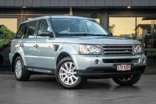 2007 Land Rover Range Rover Sport L320 07MY TDV6 Green 6 Speed Sports Automatic Wagon.