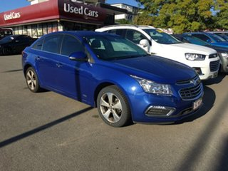 2016 Holden Cruze JH Series II MY16 Z-Series Blue 6 Speed Sports Automatic Sedan.