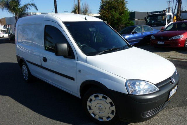Used Holden Combo XC MY05 , 2006 Holden Combo XC MY05 White 5 Speed Manual Van
