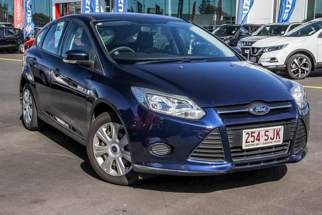 Used Ford Focus LW Ambiente, 2012 Ford Focus LW Ambiente Blue 5 Speed Manual Hatchback