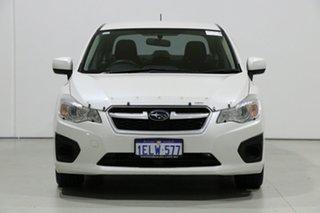 2014 Subaru Impreza MY14 2.0I (AWD) Pearl White Continuous Variable Sedan.
