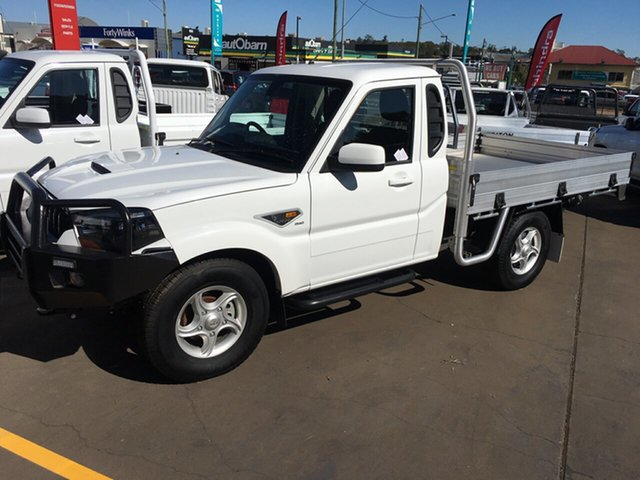 New Mahindra Pik-Up S10 2WD, 2019 Mahindra Pik-Up S10 2WD White 6 Speed Manual Utility