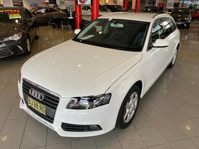 Used Audi A4 B8 8K MY11 Avant Multitronic, 2011 Audi A4 B8 8K MY11 Avant Multitronic White 8 Speed Constant Variable Wagon