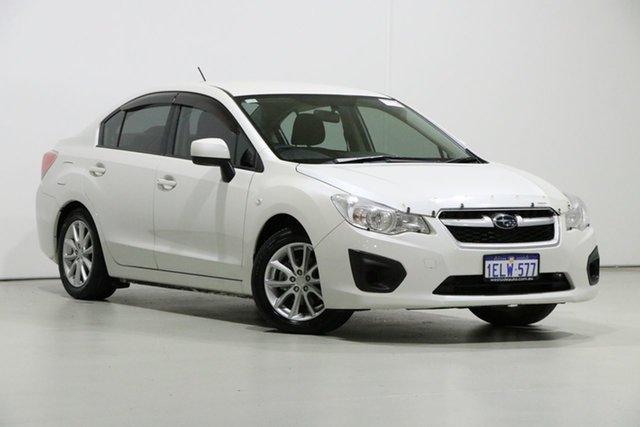 Used Subaru Impreza MY14 2.0I (AWD), 2014 Subaru Impreza MY14 2.0I (AWD) Pearl White Continuous Variable Sedan