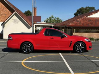 2016 Holden Ute VF II MY16 SV6 Ute Black Red 6 Speed Sports Automatic Utility.