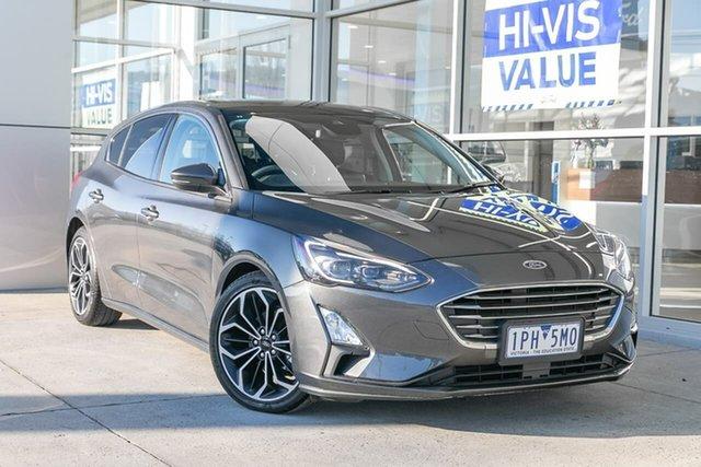 Used Ford Focus SA 2019MY Titanium, 2018 Ford Focus SA 2019MY Titanium Grey 8 Speed Automatic Hatchback