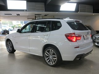 2016 BMW X3 F25 LCI xDrive20i Steptronic White 8 Speed Automatic Wagon