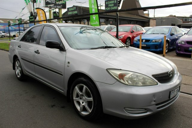 Used Toyota Camry MCV36R Altise West Footscray, 2002 Toyota Camry MCV36R Altise Silver 4 Speed Automatic Sedan