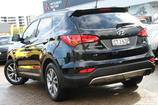 2014 Hyundai Santa Fe DM MY14 Elite Phantom Black 6 Speed Sports Automatic Wagon.