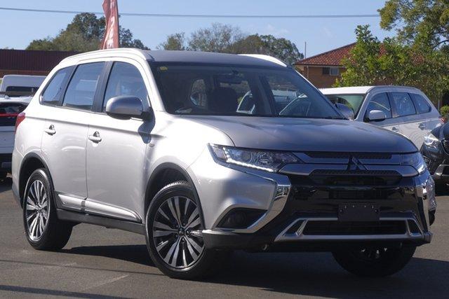 Used Mitsubishi Outlander ZL MY19 ES AWD, 2019 Mitsubishi Outlander ZL MY19 ES AWD Silver 6 Speed Wagon