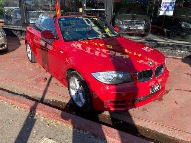 Used BMW 120i E88 MY10 120i, 2010 BMW 120i E88 MY10 120i Red 6 Speed Automatic Convertible