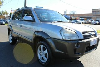 2005 Hyundai Tucson JM Silver 4 Speed Sports Automatic Wagon.