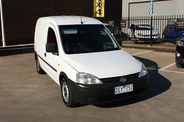 Used Holden Combo XC , 2002 Holden Combo XC White 5 Speed Manual Van