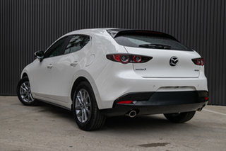 2020 Mazda 3 BP2H7A G20 SKYACTIV-Drive Pure Snowflake White Pearl 6 Speed Sports Automatic Hatchback