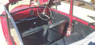 1953 Morris Minor Convertible Red 4 Speed