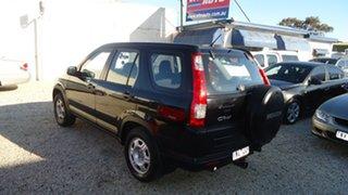 2005 Honda CR-V RD MY2005 4WD Black 5 Speed Automatic Wagon.