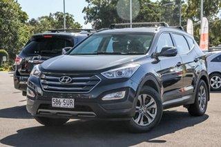 2012 Hyundai Santa Fe DM MY13 Active Grey 6 Speed Sports Automatic Wagon.