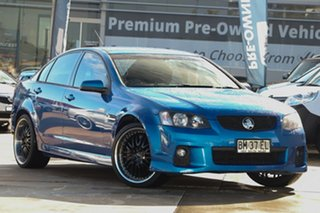 2011 Holden Commodore VE II SV6 Blue Automatic Sedan.