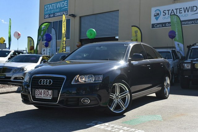 Used Audi A6 4F MY09 2.0 TFSI 30th Anniversary, 2010 Audi A6 4F MY09 2.0 TFSI 30th Anniversary Blue 7 Speed CVT Multitronic Sedan